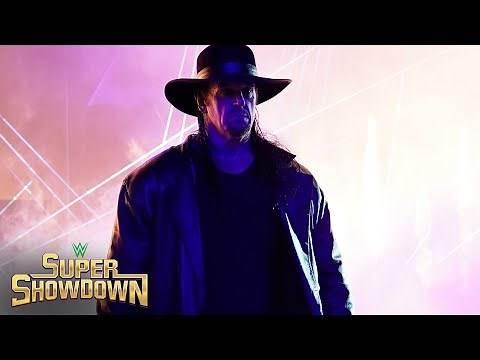 Undertaker's shocking entrance: WWE Super ShowDown 2020 (WWE Network Exclusive)