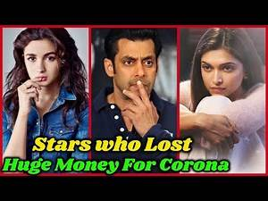 10 Bollywood Stars who Lost Huge Money For Lockdown