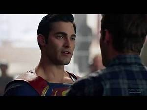 Supergirl 2x01 SUPERMAN ARRIVES AT THE DEO #2