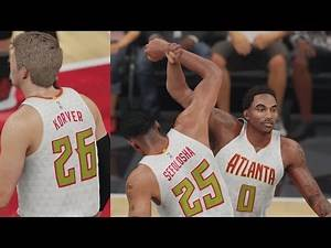 NBA 2K16 PS4 Play Now - Kyle Korver Splashing!