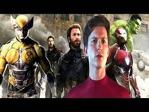 AVENGERS WOLVERINE & SPIDER-MAN NEW DELETED SCENE & SPIDER-MAN IN MCU RUSSO BROTHERS DRAMA?