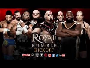 WWE Royal Rumble 2016 Matches