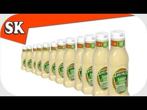 HEINZ SALAD CREAM RECIPE - Make your own Salad Cream