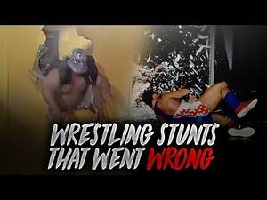 8 Planned Wrestling Stunts That Went HORRIBLY WRONG!
