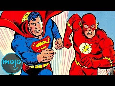 Top 10 Fastest Superheroes