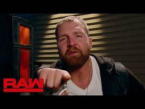 Dean Ambrose on why the WWE Universe makes him sick: Raw, Nov. 19, 2018