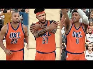 NBA 2k17 MyCAREER - Insane Debut with New Team! GOATbrook 360 Lob + Triple Ankle Breaker! Ep. 111