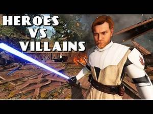 Clone Wars Obi-Wan is Awesome! - Battlefront 2 Heroes vs Villains