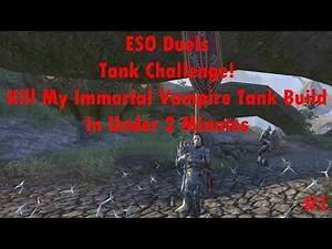 ESO Duels: Immortal Vampire Tank Challenge
