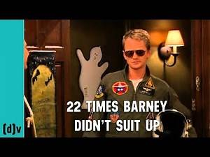 22 Times Barney Stinson Didn't Suit Up - How I Met Your Mother