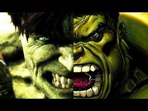 Marvel Comics HULK vs. Marvel Cinematic HULK : 2003 - 2018 Full Analysis