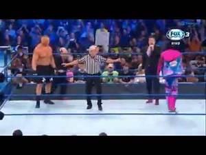 Cain Velásquez ataca a Brock Lesnar vs Kofi Kingston WWE SmackDown 4 Octubre 2019 en Español