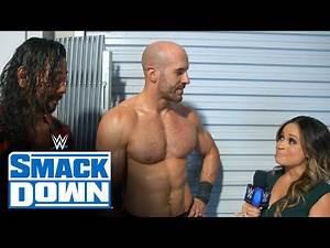 Nakamura & Cesaro leave Kayla Braxton lost in translation: SmackDown Exclusive, July 17, 2020