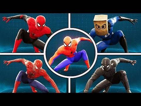 ALL 42 Suits of Spider-Man Ps4