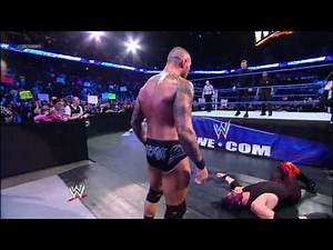 WWE SmackDown General Manager Theodore Long vs. General Manager John Laurinaitis