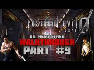 Resident Evil 0 (Zero) HD Remaster - Walkthrough - Hard - PC 1080p/60fps - Part 9 - Tyrant BOSS