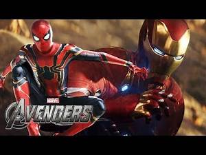 New Avengers Game - BIGGEST Gameplay LEAK Before E3! - Playable Characters & More! | SuperRebel