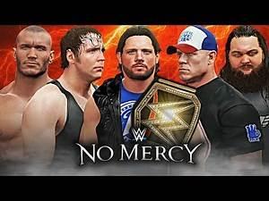 WWE NO Mercy 2016 WWE 2K16 Live Stream
