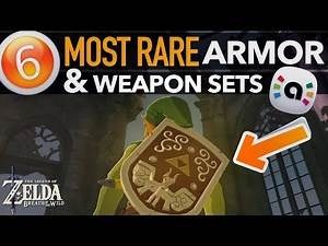 ALL Amiibo Powerful Weapon & Armor Sets in Zelda Breath of the Wild
