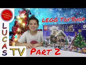 Part 2: LEGO Winter Toy Shop Minifigures and Features - Christmas 2016
