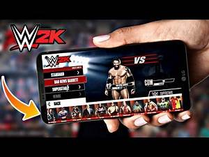 HOW TO NEW SUPERSTAR 2020 NEW WWE 2K ANDROID DEVICES MOBILE