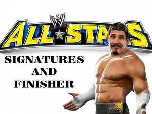 Eddie Guerrero - All Signatures and Finisher - WWE All Stars