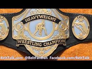 Real FCW Florida Championship Wrestling WWE NXT Ring Used Championship Wrestling Belts