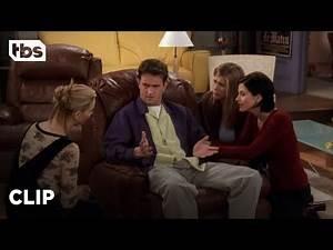 Friends: The Girls Help Chandler Get Over His Break-Up (Season 4 Clip) | TBS