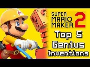Super Mario Maker 2 Top 5 GENIUS INVENTIONS Courses (Switch)
