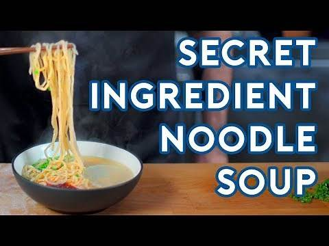 Binging with Babish: Secret Ingredient Soup from Kung Fu Panda