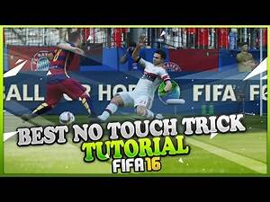 FIFA 16 BEST NO TOUCH DRIBBLING TRICK TUTORIAL / FUT & H2H Tips & Tricks / Dummy a Pass