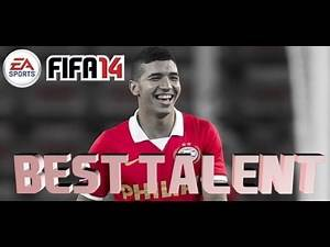 FIFA 14 Career Mode Best Young Top Talented Players - Zakaria Bakkali - Growing Fast!