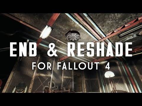 ENB & ReShade Explained for Fallout 4 - How to Install Presets, How They Work, & Comparisons