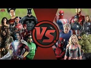MCU Avengers vs DCEU Justice League TOTAL WAR! Cartoon Fight Club FAN EPISODE!