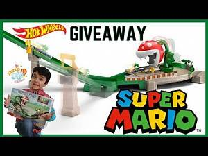 Mario Kart Piranha Plant Slide Track Set Giveaway Video for Kids | Jazib Toys Giveaway