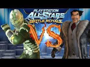 Playstation All Stars Battle Royale: bluedeepdive vs devilforce12 (Round 2) (PS3)