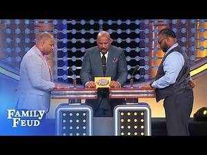 Cannibals think THIS movie star is good enough to eat! | Family Feud