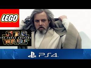 LEGO Star Wars The Force Awakens PS4 - Luke Skywalker Custom Character!