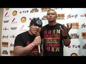 OKADA with GEDO BACKSTAGE INTERVIEW【INVASION ATTACK 2013】