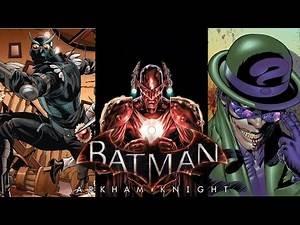 Batman Arkham Knight: Villain Must Haves