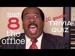Season 8 of | THE OFFICE | trivia quiz - 20 Questions about Dunder Mifflin {ROAD TRIpVIA- ep:258]