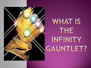 What is the Infinity Gauntlet and Infinity Gems? - Comic History 101