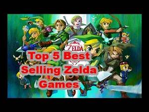 TOP 5 BEST SELLING LEGEND OF ZELDA GAMES