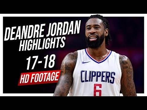 Clippers C DeAndre Jordan 2017-2018 Season Highlights ᴴᴰ