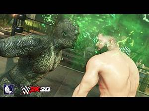Apex Predator Unleashed! Last Man Standing in WWE 2K20 (Bump in the Night' DLC)