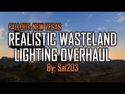 Fallout New Vegas Mods: Realistic Wasteland Lighting (RWLO)