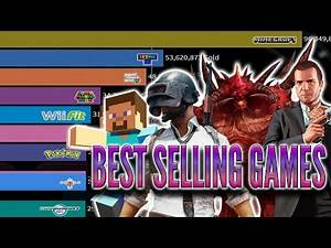 Best Selling Video Games of All Time 🎮 (1989 - 2020)