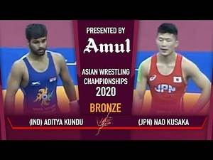 Asian Wrestling Championships 2020 Day 2: Aditya wins bronze for India in Greco Roman