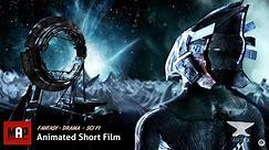Stunning Sci-Fi CGI 3D Animated Short flim ** BROKEN ** Cyberpunk Fantasy Animation by ArtFX Team