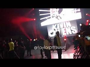 Kevin Owens entrance - WWE Live Mexico City 2016